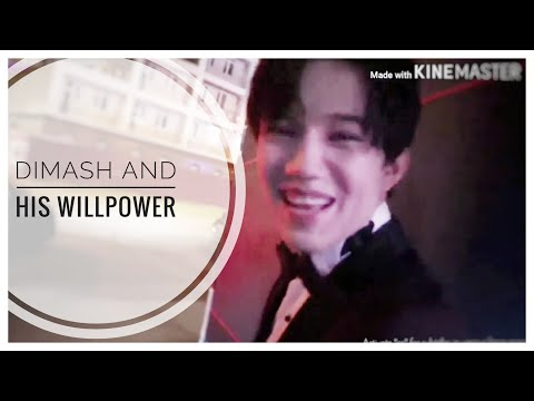 [ENG/other] DIMASH And His WILLPOWER. Crazy Maks.