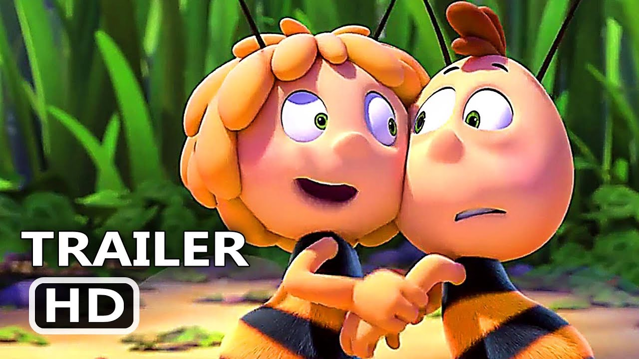 Download MAYA THE BEE The Honey Games Official Trailer (2018) Animated Movie HD