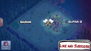 Godson VS ALPHA Q - Clash of Clans/builderbase