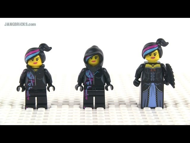 Lego Movie Wyldstyle Minifigs Compared First 3 Versions December 2013 Youtube