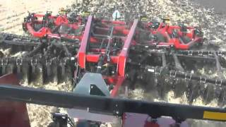 Ride in the Case IH Steiger 600 Tractor