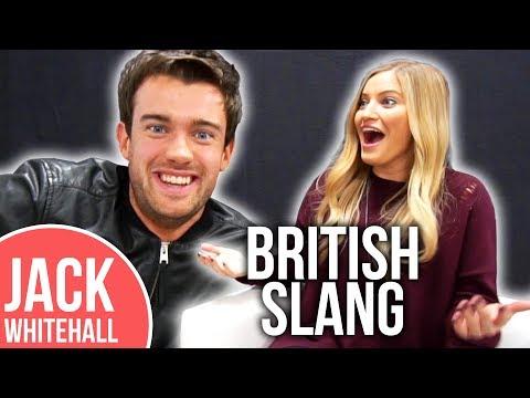 Jack Whitehall Teaches iJustine BRITISH Slang!!   Slang Challenge