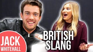 Jack Whitehall Teaches iJustine BRITISH Slang!! | Slang Challenge