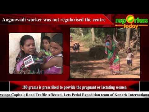 Anganwadi worker was not regularised the centre : Dhenkanal