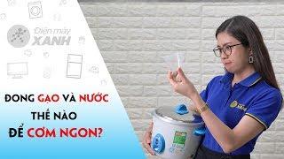 Cách sử dụng cốc đong gạo: chính xác, dễ dàng | How to use rice measuring cup: accurate, easy
