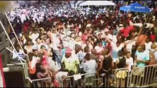 The Original Burning Flames (Taken from a live stream during antigua carnival 2017 launch)