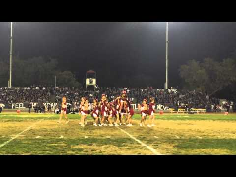 Los Banos High School Cheerleading vs Pacheco 2014-2015