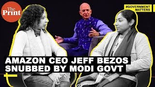 Amazon's Jeff Bezos announces a massive investment for India, gets a snub from Modi govt in return