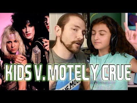 KIDS V. MOTLEY CRUE   Mike The Music Snob Reacts