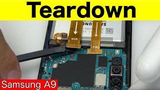 Samsung A9 Teardown