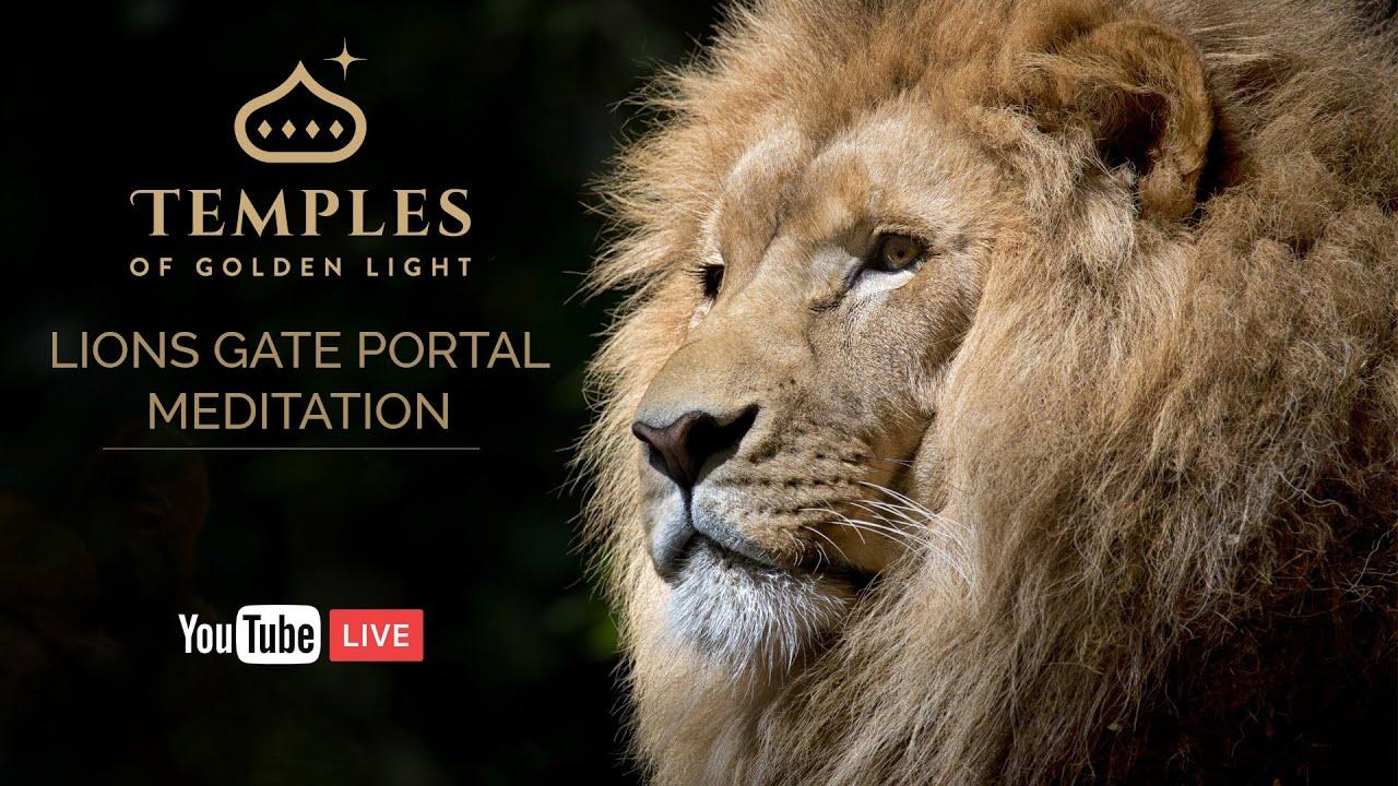 Lions Gate Portal Meditation - Temples of Golden Light