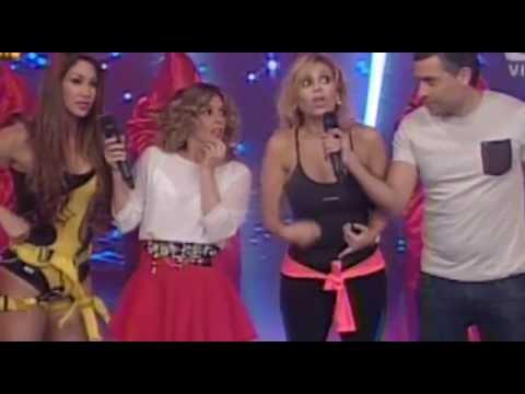 JAZMIN PINEDO vs MELISSA LOZA - ESCALERAS INCLINADAS @ ESTO ES GUERRA 04-06-14 SEXTA TEMPORA from YouTube · Duration:  1 minutes 6 seconds