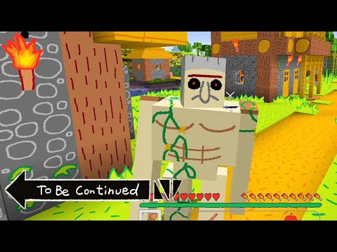 TO BE CONTINUED In Minecraft But It's Actually We'll Be Right Back...