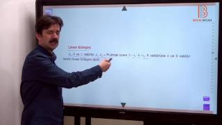 1) Düzlemde Vektörler - ÖABT Matematik Dersi - Hakan Efe (2020)