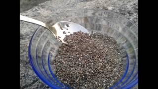 Perds le poids rapidement avec les graines de chia
