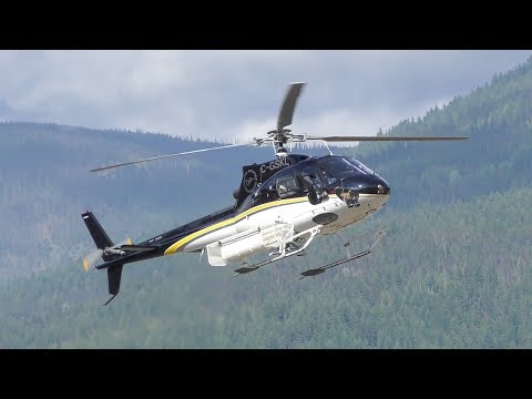 Aerospatiale AS 350 B2 & Eurocopter AS 350 B3 Landing