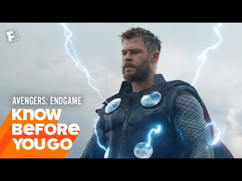 Play Know Before You Go: Avengers: Endgame | Movieclips Trailers