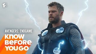 Know Before You Go: Avengers: Endgame   Movieclips Trailers