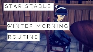 My Star Stable Winter Morning Routine