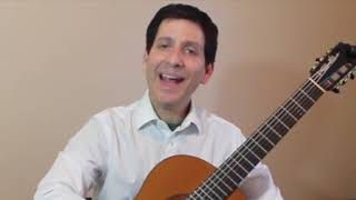 Guided Lesson - Minuet by R de Visée, Philip Hemmo, classical guitar