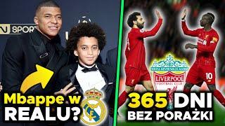 BRAT Kyliana Mbappe PIŁKARZEM Realu Madryt? 365 DNI bez przegranej! Liverpool po REKORD! | LANDRI
