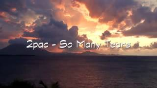 2Pac So Many Tears перевод с русскими субтитрами