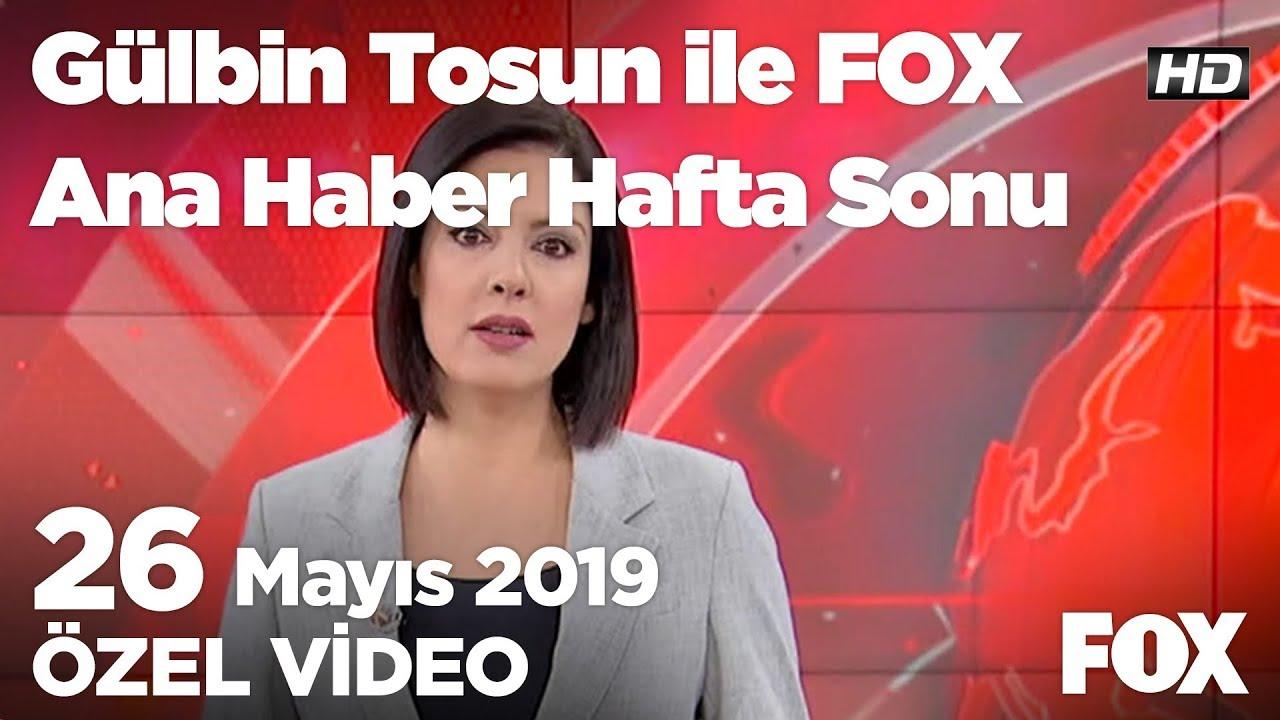 Fox Haber İzle Bugün: Soylu: Bütün sandıkları açın dedik! 26 Mayıs 2019 Gülbin Tosun ile FOX Ana Hab