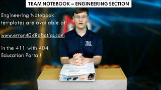 411 with 404: Engineering Notebook Engineering Log