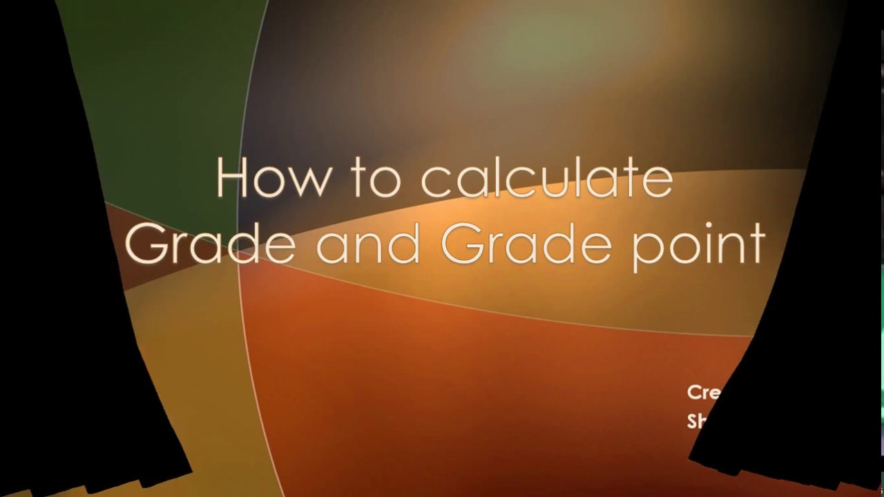 How To Calculate Grade Point