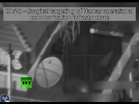 ВВС Израиля атакуют российский канал RT в Газе (ВИДЕО)