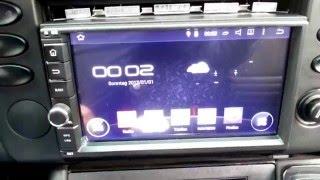 Einbau Naviskauto C0255 Android Autoradio 7 Zoll 4.4 QuadCore