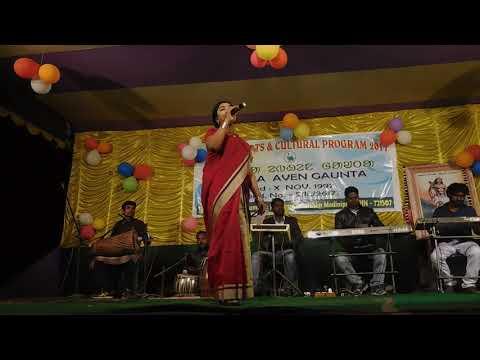 Santhali Stage Program// Song - A Babu Balok Sona// Singer - Bulbuli