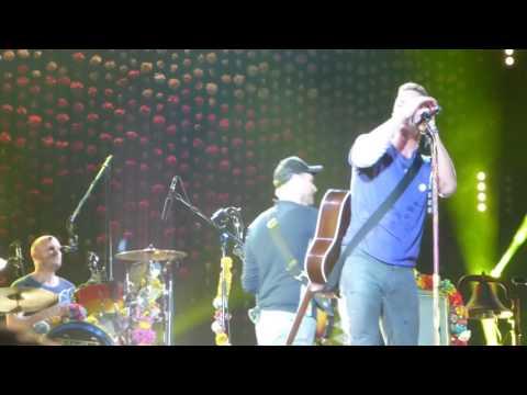 """Yellow"" Coldplay@Lincoln Financial Field Philadelphia 8/6/16"