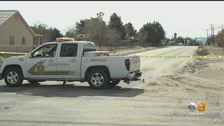 San Bernardino Deputies Fatally Shoot Suspect Armed With Baseball Bat In Hesperia