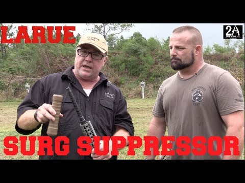 LaRue SURG Suppressor And Ultimate Upper Kit