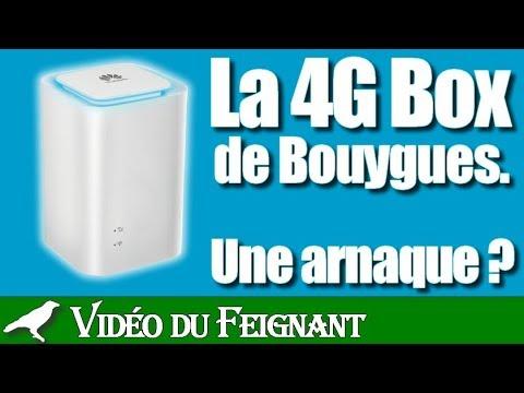 arnaque 4g box