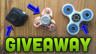 HUGE FIDGET TOY GIVEAWAY!! (Spinners/Cubes)