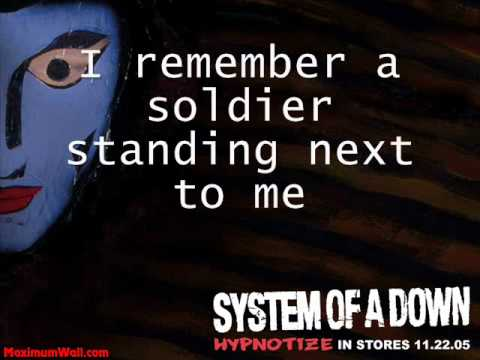 System Of A Down - The Metro - Lyrics