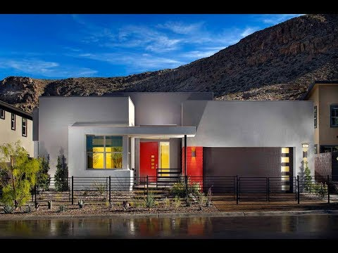 $551,500 Summerlin NV: Single-Story Modern Home Residence 1B by Pardee Homes, Terra Luna, The Cliffs