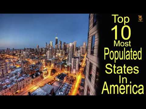 Top 10 Most Populated States in US