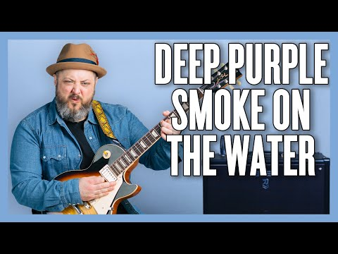 How To Play Deep Purple  Smoke On The Water