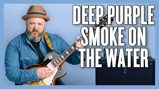 How To Play Deep Purple - Smoke On The Water
