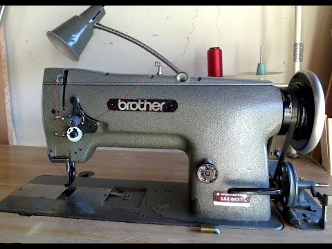 Brother LS2-B837 Unison Feed - Walking Foot Sewing Machine  Overview and Sewing Demonstration