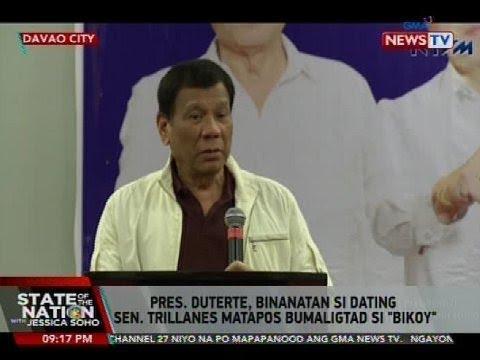 SONA: Pres. Duterte, binanatan si dating Sen. Trillanes matapos bumaligtad si alyas 'Bikoy'