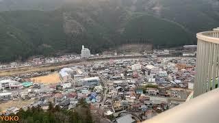 JR東海 高山本線 キハ85系 ひだ13号とひだ16号/ひだ36号の交換 2019.01.12