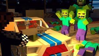 НАШЕЛ МАШИНУ! ПЫТАЮСЬ ВЫЖИТЬ! ЗОМБИ АПОКАЛИПСИС В МАЙНКРАФТ! - (Minecraft - Сериалы)