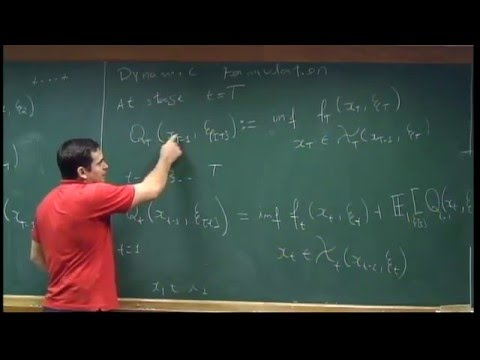 Basic Course on Stochastic Programming - Class 14