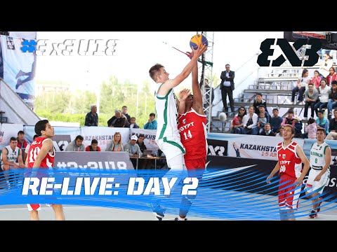 Re-Live: Day 2 - 2016 FIBA 3x3 U18 World Championships