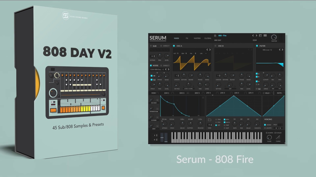 Free Serum Presets 2019 | 808 Presets & Samples | Free Download