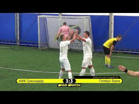 Огляд матчу   АФК Гренадер 4 : 6 Глобус Банк